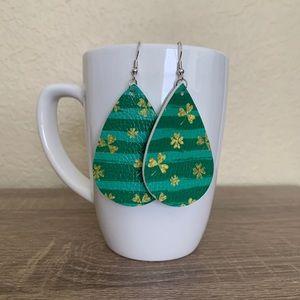 St. Patrick's Day Earrings - Shamrock 2